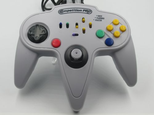 Competition Pro Nintendo 64  Controller White (Unboxed)